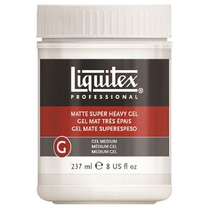 Liquitex Matte Super Heavy Gel Medium 237mL