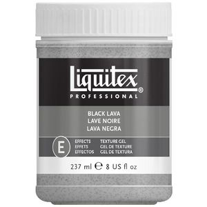 Liquitex Black Lava Textured Effects Medium 273mL