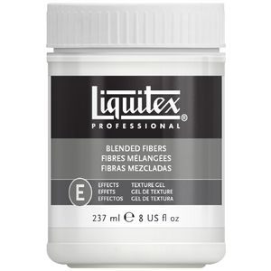 Liquitex Blended Fibres Textured Effects Medium 237mL