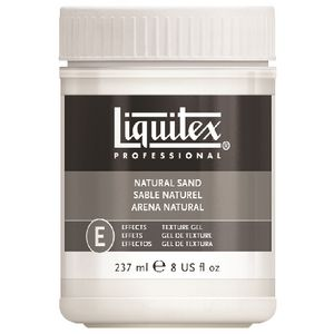 Liquitex Textured Effects Natural Sand Medium 237mL