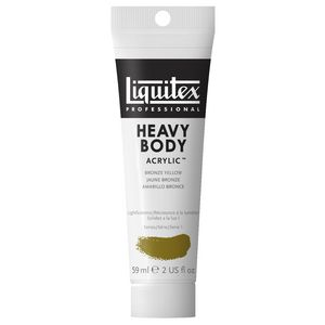 Liquitex Heavy Body Acrylic 59mL Bronze Yellow