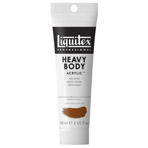 Liquitex Heavy Body Acrylic 59mL Red Oxide