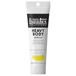 Liquitex Heavy Body Acrylic 59mL Yellow Light Hansa