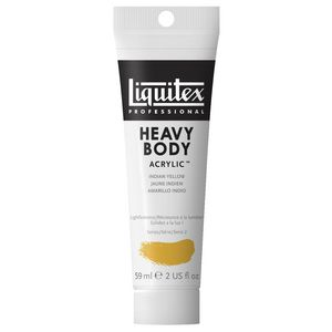 Liquitex Heavy Body Acrylic 59mL Indian Yellow