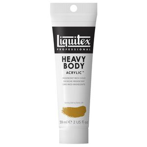Liquitex Heavy Body Acrylic 59mL Iridescent Rich Gold