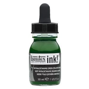 Liquitex Ink 30mL Phthalocyanine Green Yellow Shade