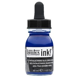 Liquitex Ink 30mL Phthalocyanine Blue Green Shade
