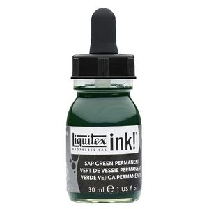 Liquitex Ink 30mL Sap Green Permanent