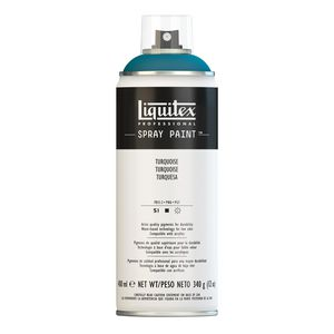 Liquitex Spray Paint 400mL Turquoise