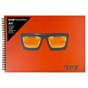 Geek A4 Visual Diary Thick Glasses