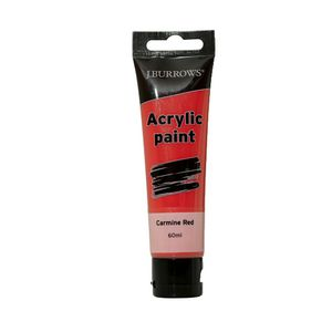 J.Burrows Acrylic Paint 60mL Carmine Red