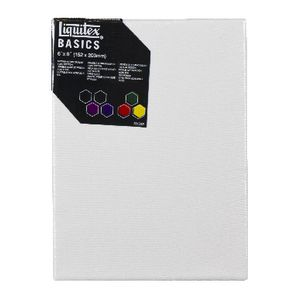 "Liquitex Basics Thin Edge Stretched Canvas 6"" x 8"""