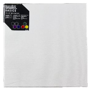 "Liquitex Basics Thin Edge Stretched Canvas 10"" x 10"""