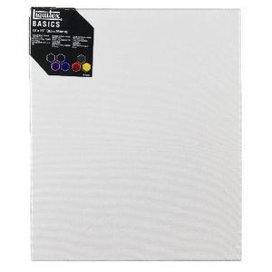 "Liquitex Basics Thin Edge Stretched Canvas 12"" x 10"""