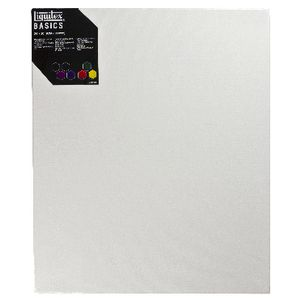 "Liquitex Basics Thin Edge Stretched Canvas 24"" x 20"""