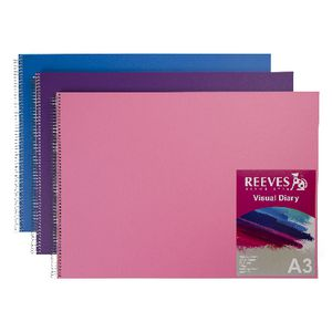 Reeves Visual Colour Diary A3 Assorted Colours