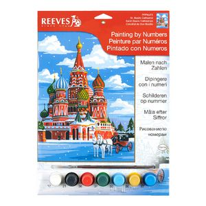 Reeves Artist Collection Paint by Numbers St. Basils