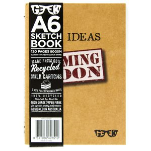 GEEK A6 Milk Carton Sketch Book Ideas