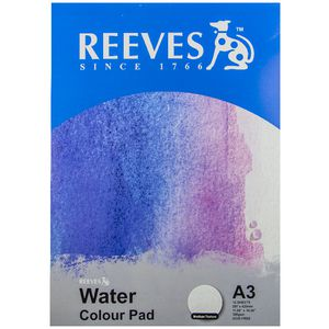 Reeves A3 Watercolour Paper 300gsm 12 Sheets