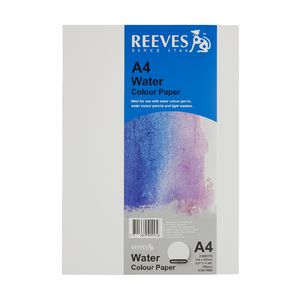 Reeves A4 Watercolour Paper 300gsm 5 Sheets