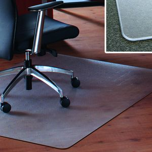 Floortex Megamat Chair Mat 90 x 120cm Rectangular at Officeworks in Campbellfield, VIC | Tuggl