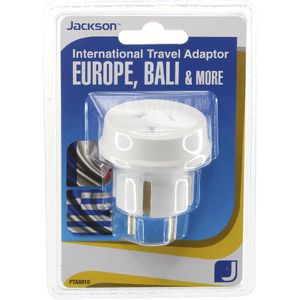 Jackson Outbound Europe Travel Adaptor