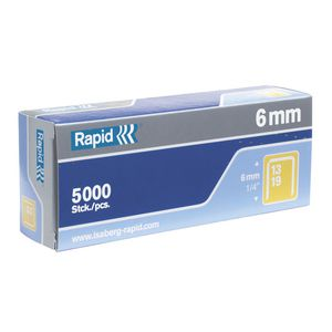 Rapid 13/6 Staples 5000 Pack