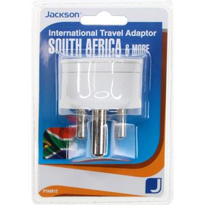 Jackson Outbound South Africa & India Travel Adaptor