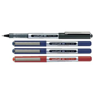 Uni-Ball Eye Micro Rollerball Pens Assorted 4 Pack