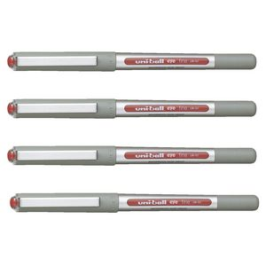 Uni-Ball Eye Fine Rollerball Pens Red 4 Pack