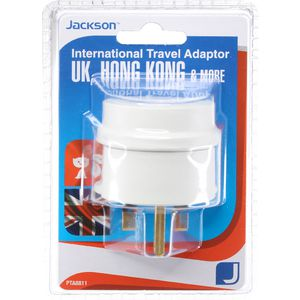Jackson Outbound UK Travel Adaptor