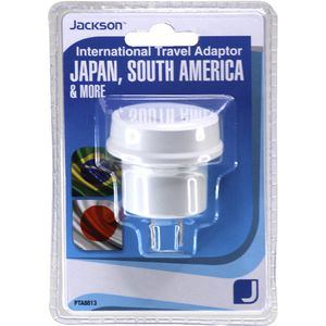 Jackson South America/Japan 2 Pin Travel Adaptor