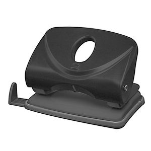 J.Burrows Medium 2 Hole Punch Black