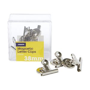 J.Burrows 32mm Magnetic Letter Clips 8 Pack