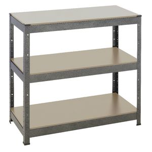 Heavy Duty 3 MDF Shelf Storage Unit 910 x 410 x 900mm