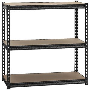... Heavy Duty 3 MDF Shelf Storage Unit 910 X 410 X 900mm