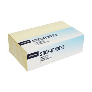 J.Burrows Stick-it Notes 76 x 127mm 4 Pack