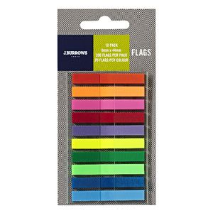 J.Burrows Flags 6 x 44mm 10 Pack