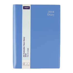 J.Burrows A5 Executive DTP Diary Blue