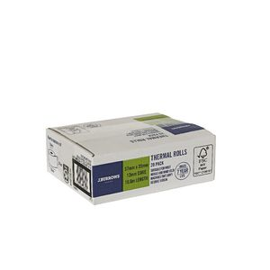 J.Burrows Thermal Rolls 57 x 35mm 20 Pack