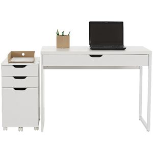 Archie Desk and Pedestal