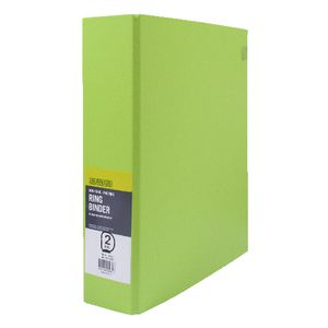 J.Burrows Binder A4 2 D-Ring 50mm Green