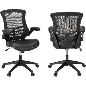 Baku Medium Back Chair Black