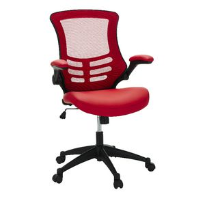 Baku Medium Back Chair Red