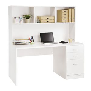 Boston Large Hutch Desk Officeworks