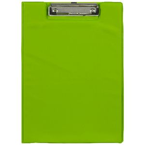 J.Burrows Foolscap Clipfolder PE Green