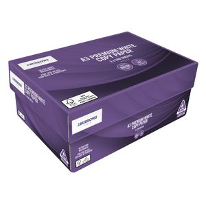 J.Burrows 80gsm A3 Premium Copy Paper Carton