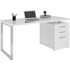 Contour executive desk officeworks - Officeworks desktop ...