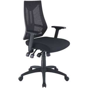 Doncaster High Back 3-Lever Ergonomic Chair Black