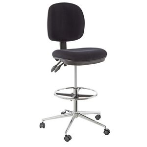 Deluxe Drafting Chair Black
